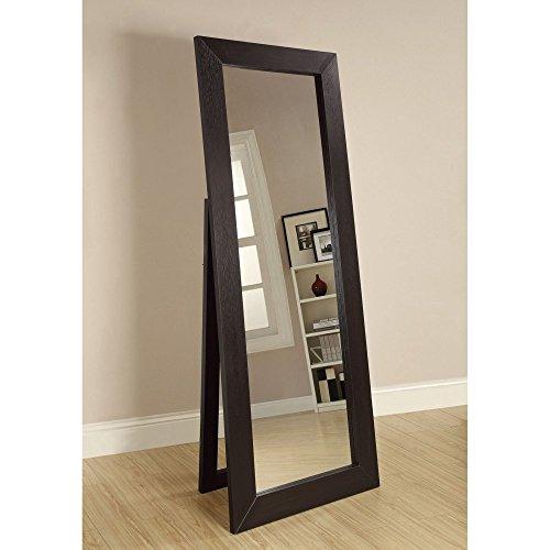 Coaster-Furniture-Beveled-Floor-Mirror-28W-x-72H-in-0