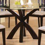 Coaster-Home-Furnishings-101071-Casual-Dining-Table-Base-Deep-Merlot-Finish-0