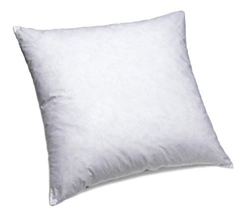 ComfyDown-Set-of-Two-95-Feather-5-Down-22-X-22-Square-Decorative-Pillow-Insert-Sham-Stuffer-MADE-IN-USA-0