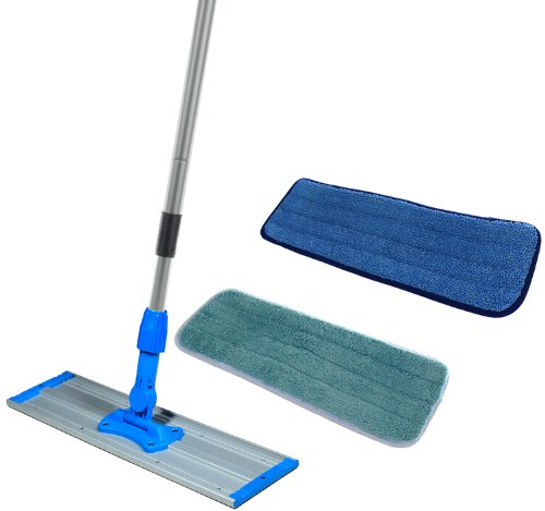 Commercial-Grade-24-inch-Microfiber-Mop-Kit-With-Two-Microfiber-Mop-Pads-24-0