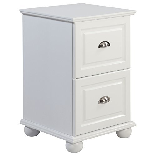 Compact-2-Drawer-White-Storage-File-Cabinet-with-Half-Moon-Metal-Pulls-0