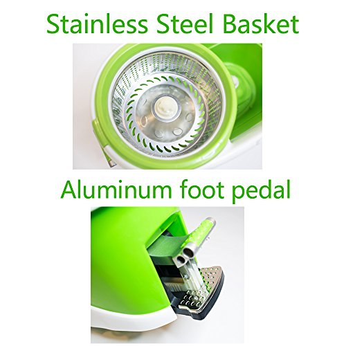 Concise-Home-Stainless-Steel-Easy-Wring-Spin-Mop-and-Bucket-Rolling-System-with-Microfiber-mop-heads-Gift-Box-0-1