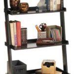 Convenience-Concepts-American-Heritage-Bookshelf-Ladder-0