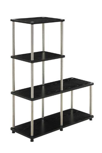 Convenience-Concepts-Multi-L-Bookshelf-Black-0