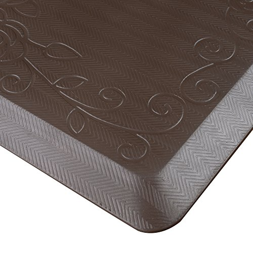Cook-N-Home-Anti-Fatigue-Premium-Comfort-Kitchen-Floor-Mat-39-x-20-Gray-0-0