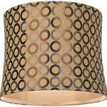 Copper-Circles-Drum-Lamp-Shade-13x14x11-Spider-0-0