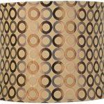 Copper-Circles-Drum-Lamp-Shade-13x14x11-Spider-0