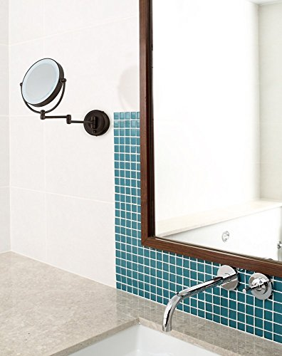Cordless-LED-Pivoting-9-Wide-Bronze-Wall-Mount-Mirror-0-1