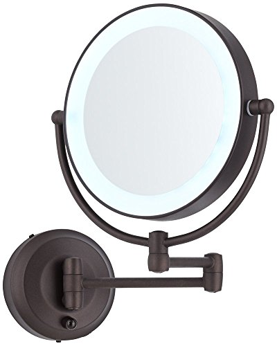 Cordless-LED-Pivoting-9-Wide-Bronze-Wall-Mount-Mirror-0
