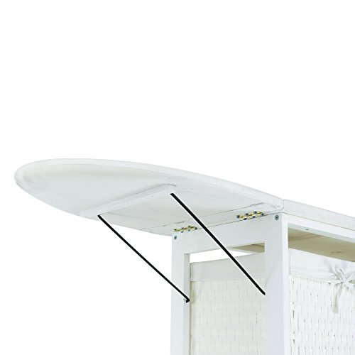 Corner-Housewares-Portable-Ironing-Board-with-Laundry-Baskets-White-0-1