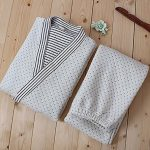 Cotton-Air-Layer-Pajamas-Suit-Tracksuit-Bathrobe-Mens-Kimono-Pajamas-Thickening-0-0
