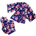 Cotton-Rabbit-Pattern-Kimono-Pajamas-Bathrobe-Womens-Kimono-Pajamas-Tracksuit-0