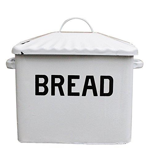 Creative-Co-op-Enameled-Metal-Bread-Box-White-0