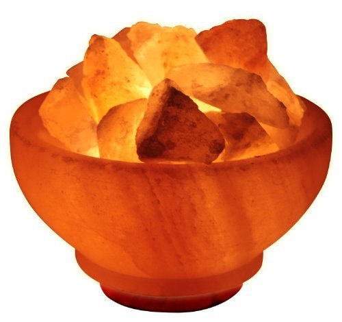 Crystal-Allies-Gallery-Natural-6-Himalayan-Salt-Fire-Bowl-Lamp-w-Rough-Salt-Chunks-with-Cord-Light-Bulb-Authentic-Crystal-Allies-Info-Card-0