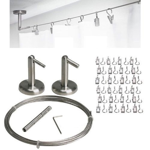 Curtain-Wire-Rod-Set-Stainless-Steel-Multi-purpose-165-Wire-2-Mounting-Pieces-24-Clipss-by-Fasthomegoods-0