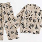 Cute-Pajamas-Autumnwinter-Cotton-Kimono-Pajamas-Childrens-Bathrobe-Pajamas-0-0