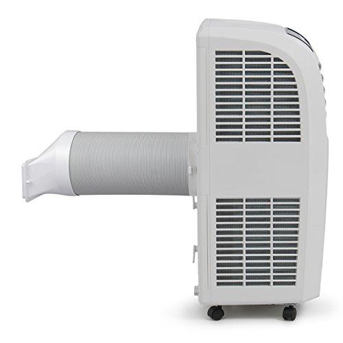 DELLA-048-GM-48266-8000-BTU-Portable-Air-Conditioner-Cooling-Fan-Dehumidifier-AC-Remote-Control-Window-Vent-Kit-White-0-1