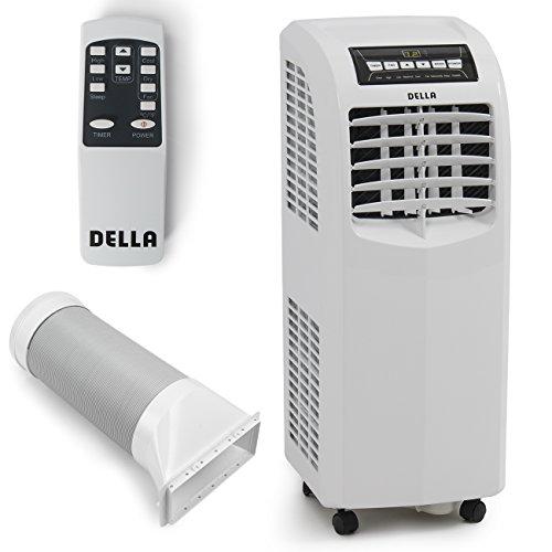 DELLA-048-GM-48266-8000-BTU-Portable-Air-Conditioner-Cooling-Fan-Dehumidifier-AC-Remote-Control-Window-Vent-Kit-White-0