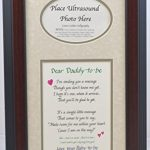 Daddy-to-Be-Ultrasound-Picture-Frame-7×14-Sonogram-Gift-Dad-Father-Choose-Your-Mat-Color-and-Frame-0