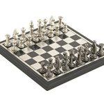 Deco-79-28489-Aluminum-Wood-Chess-Set-0