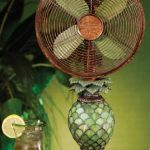 Deco-Breeze-Mosaic-Pineapple-Table-Top-FanLamp-0-0