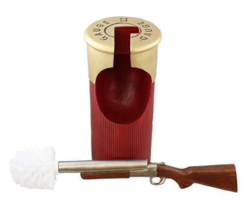 Decorative-Shotgun-Shot-Shell-Toilet-Bowl-Brush-and-Holder-0-0