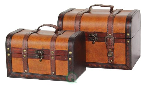 Decorative-Wood-Leather-Treasure-Box-0