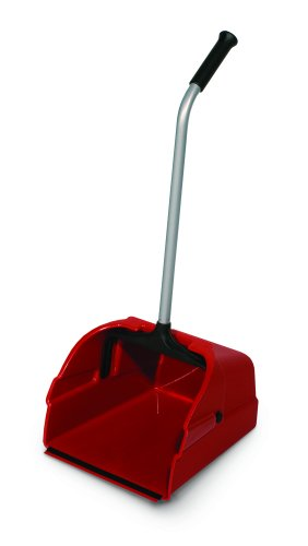 Delamo-8497-6-Jumbo-Debris-Lobby-Pan-Red-Pack-of-6-0