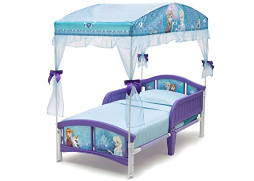 Delta-Children-Canopy-Toddler-Bed-0