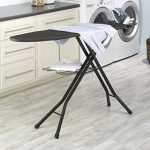 Deluxe-4-Leg-Ironing-Board-with-Pad-and-Cover-0-0