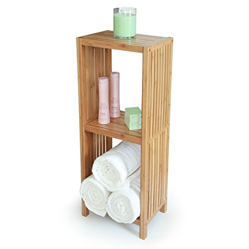 Deluxe-Bathroom-Bamboo-Freestanding-Organizing-Shelf-0-1