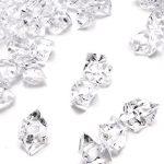 DomeStar-150-PCS-Acrylic-Clear-Ice-Rock-Cubes-Crystals-Treasure-Gems-Clear-0