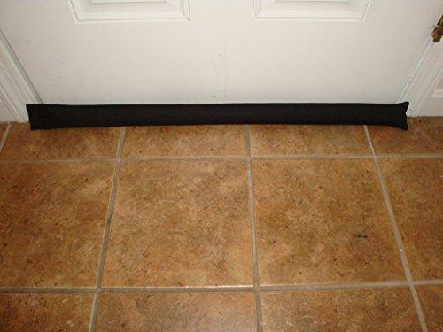 Door-Draft-Light-Dust-Stopper-Natural-Fragrant-Balsam-Black-Quality-USA-Made-0