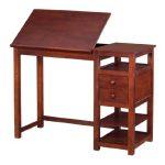 Dorel-Living-Drafting-and-Craft-Counter-Height-Desk-Espresso-0-0