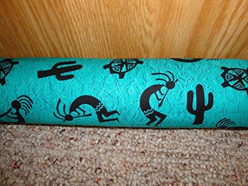 Draft-Stopper-Filled-with-Fragrant-Balsam-Large-Diameter-3-Hopi-Trail-Turquoise-0
