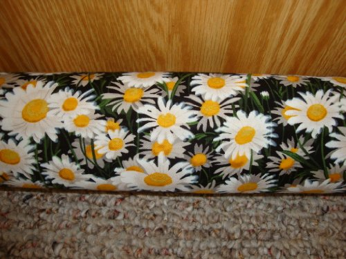 Draft-Stopper-Filled-with-Fragrant-Balsam-Large-Diameter-3-Platinum-Plus-Daisies-0