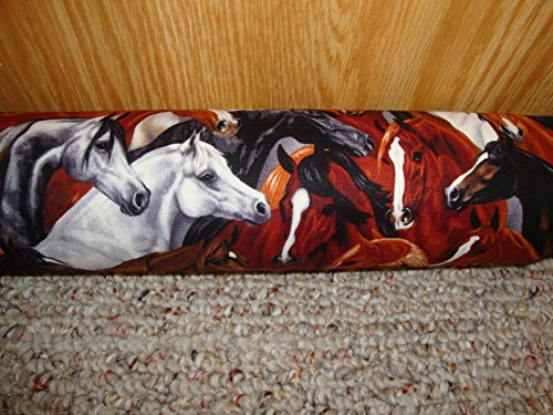 Draft-Stopper-Filled-with-Fragrant-Balsam-Large-Diameter-3-Platinum-Plus-Wild-Horses-0