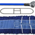 Dust-Mop-Kit-60-1-60-Blue-Industrial-Dust-Mop-1-60-Wire-Dust-Mop-Frame-1-Blue-Metal-Dust-Mop-Handle-Clip-on-Style-0