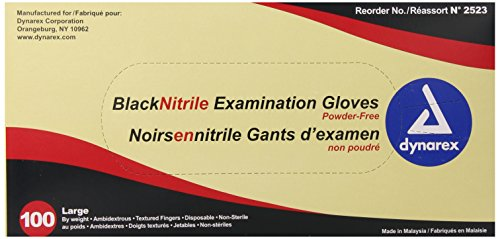 Dynarex-Nitrile-Exam-Gloves-Black-Large-100-Count-Pack-of-10-0