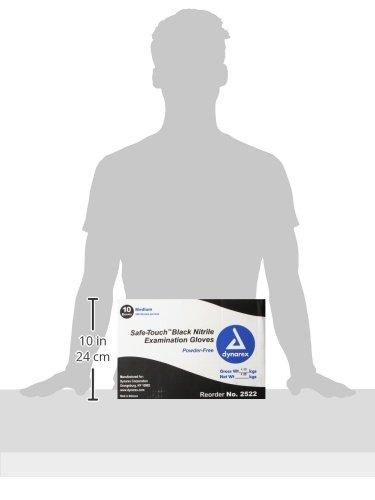 Dynarex-Nitrile-Exam-Gloves-Black-Medium-100-Count-Pack-of-10-0-1