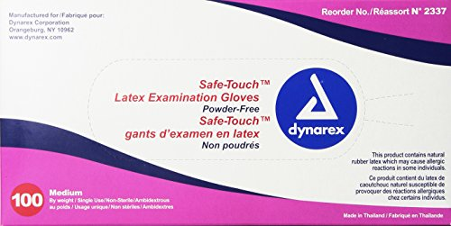 Dynarex-Safe-Touch-Latex-Exam-Glove-Powder-Free-Medium-100-Count-Pack-of-10-0