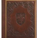 Eccolo-Made-In-Italy-Medici-Embossed-Album-Scrapbook-With-30-Ivory-Pages-Burgundy-0-0