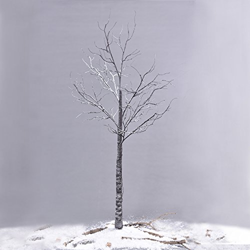 Ecolinear-Prelit-Snow-Tree-48-LEDs-96-LEDs-Silver-Twig-Warm-White-Light-White-Branches-Home-Festival-Party-Christmas-Indoor-and-Outdoor-Use-0