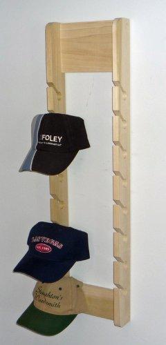 Economy-Poplar-Wood-Baseball-Cap-Rack-for-16-Caps-0
