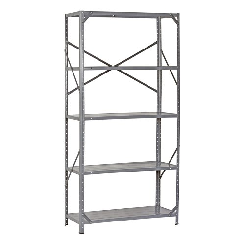 Edsal-7216H-Steel-Commercial-Shelving-Unit-36-Width-x-72-Height-x-16-Depth-0