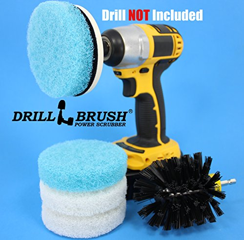 Electric-Cleaning-Rotary-Brush-Scrub-Pad-Tub-and-Tile-Shower-Kit-0-0