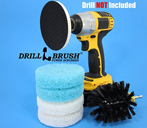 Electric-Cleaning-Rotary-Brush-Scrub-Pad-Tub-and-Tile-Shower-Kit-0-1
