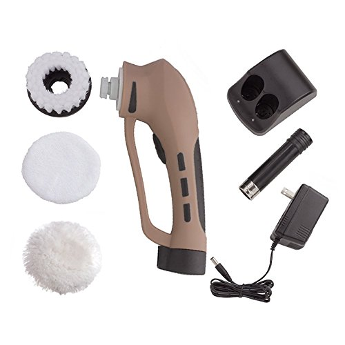 Electric-Shoe-Polisher-Portable-Power-Handheld-Shoe-Shine-Kit-with-Rechargeable-Battery-for-Leather-Bag-ShoesSofa-and-More-Brown-0-0