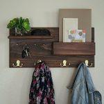 Entryway-Coat-Rack-Mail-Storage-and-Key-Hooks-Custom-Handmade-0-0