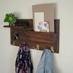 Entryway-Coat-Rack-Mail-Storage-and-Key-Hooks-Custom-Handmade-0-1